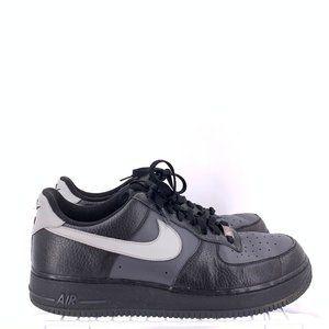 Nike Air Force 1 Low Black Grey Men's Size 12